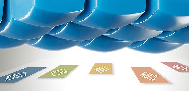 Tampondruck mit Logos der Rudi Göbel Gruppe